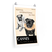Load image into Gallery viewer, Cannes: Festival International Du Pug