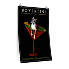 Load image into Gallery viewer, Boxertini Poster - cropped