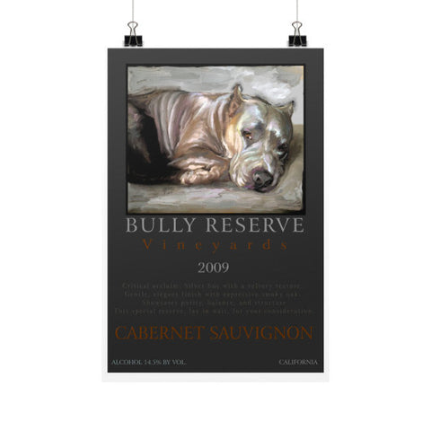 Bully Reserve Vineyards 12x18 - pupsketches