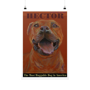 Hector: Certified Therapy Dog 20x30 - pupsketches