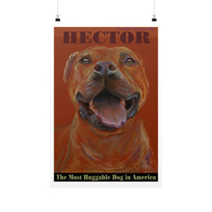 Hector: Certified Therapy Dog 24x36 - pupsketches