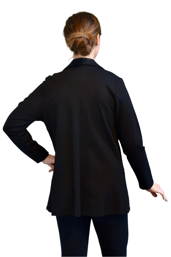 Fat Hat Clothing Tailored Jacket in Black