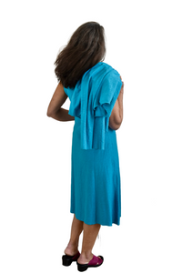 Alembika Animal Print Top in Brick