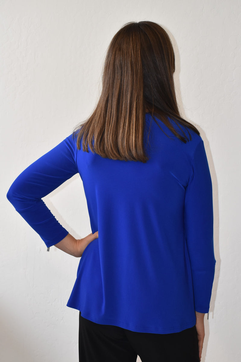 Sympli Zest Pocket Top - Harper Greer