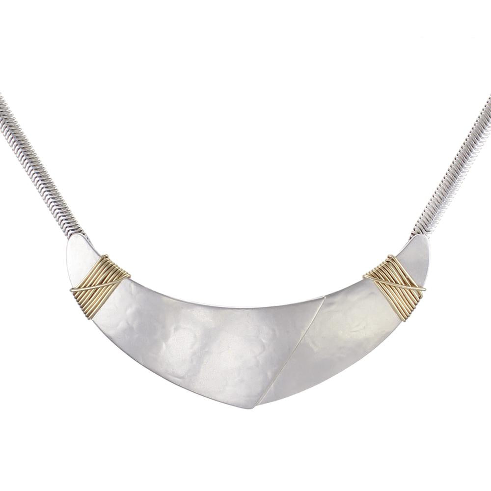 Marjorie Baer Crescent Necklace