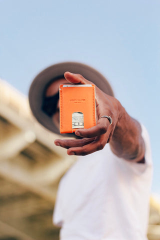 FSHD Orange Cash Wallet