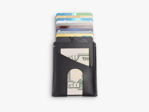 Anson Calder Black Card Wallet Cards Cash