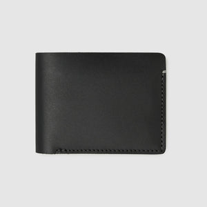 Anson Calder Billfold Wallet French Calfskin Leather _Black