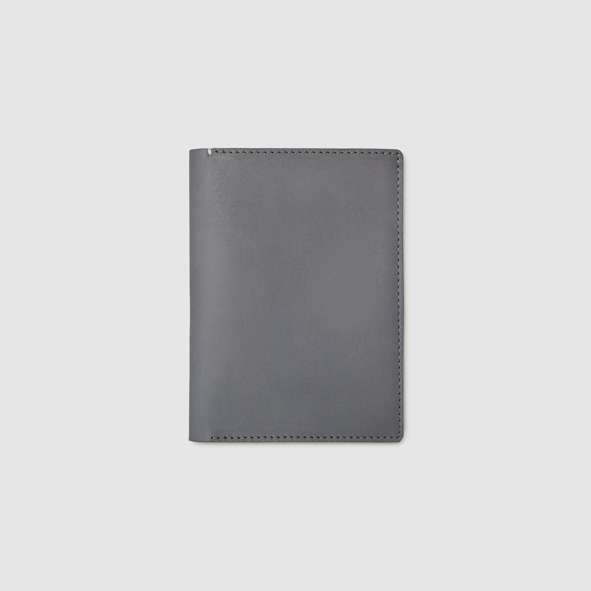 PASSPORT WALLET WALLET ANSON CALDER French Calfskin _blackPASSPORT WALLET WALLET ANSON CALDER French Calfskin _steel-grey