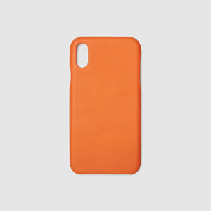 anson calder french calfskin case iphone !iphonex,iphonexr,iphonexs _fshd-orange
