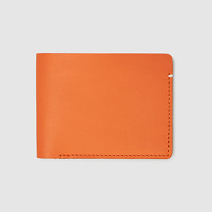 Anson Calder Billfold Wallet French Calfskin Leather _fshd-orange