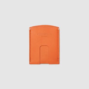 Anson Calder Card Holder Wallet french calfskin leather _fshd-orange