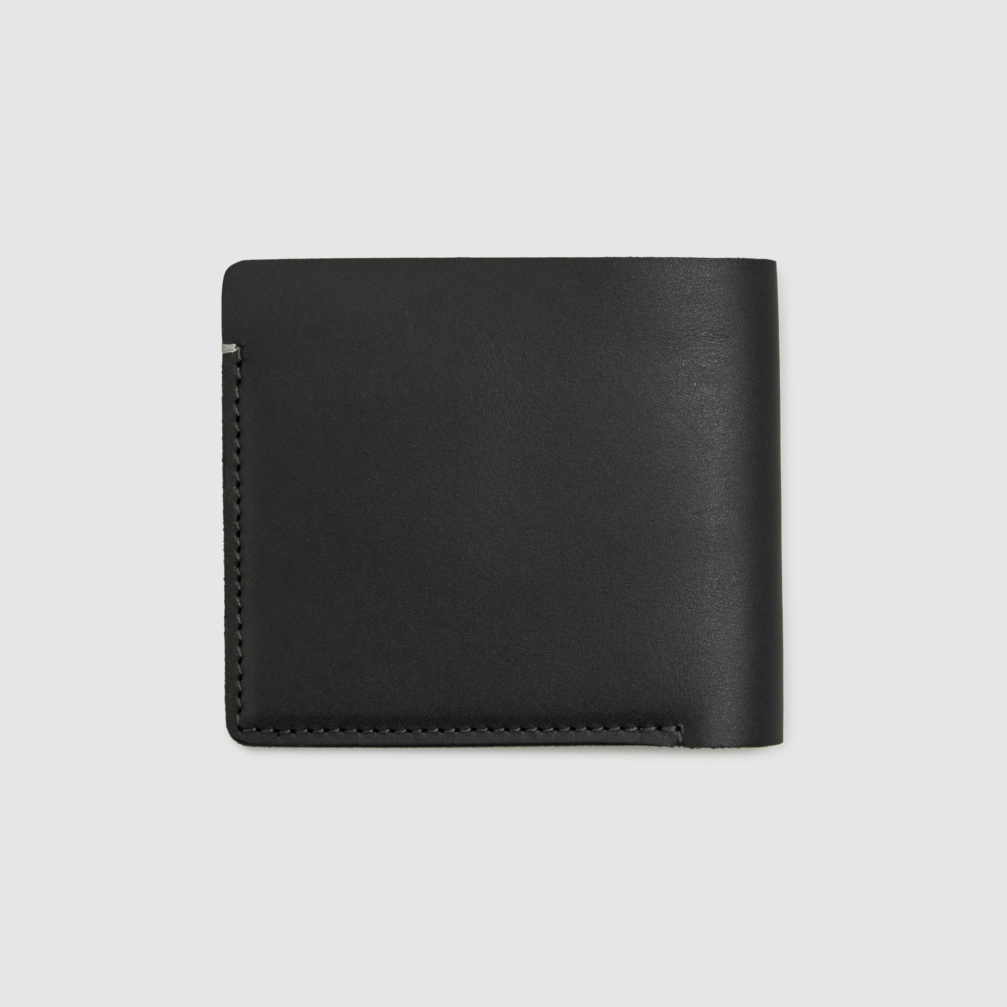 Anson Calder International Billfold Wallet RFID french calfskin leather _black