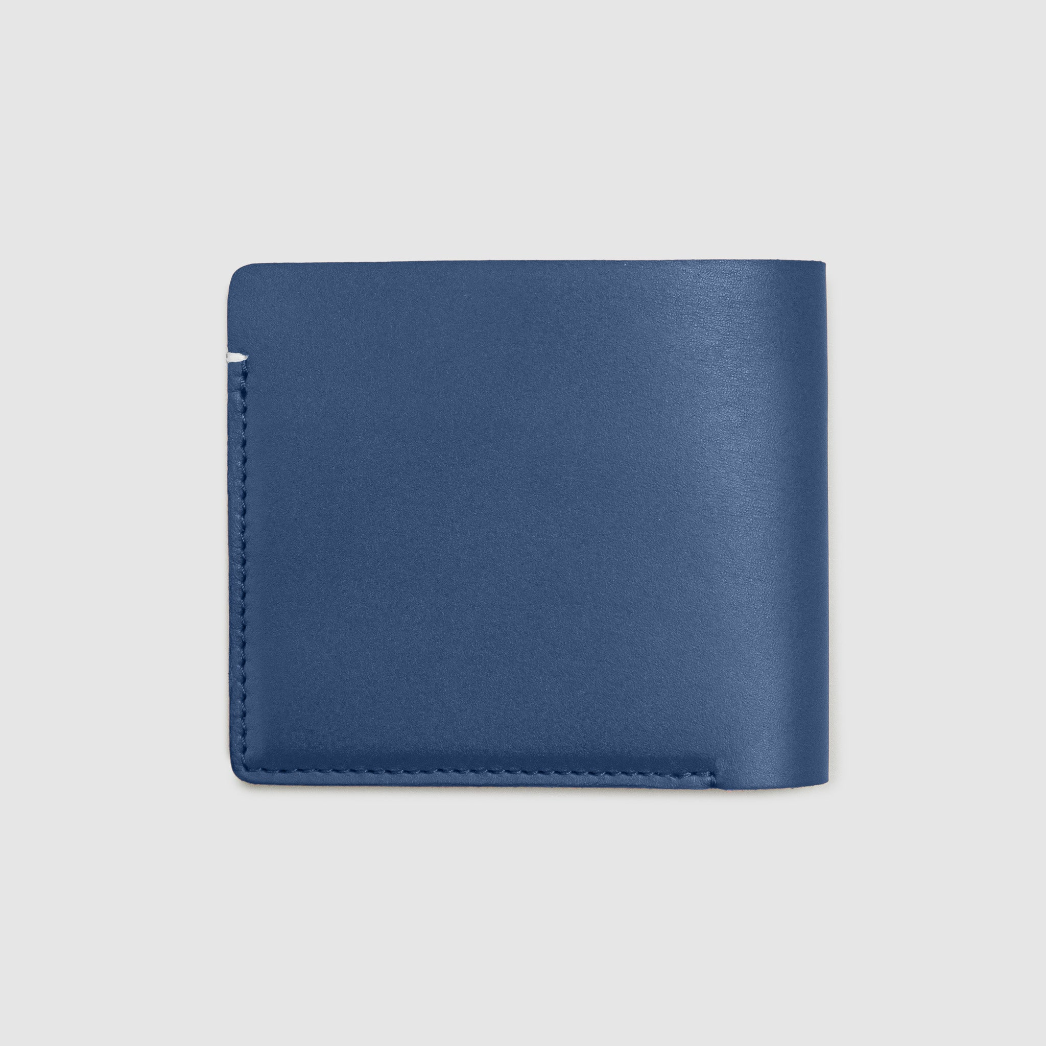 Anson Calder International Billfold Wallet RFID french calfskin leather _cobalt