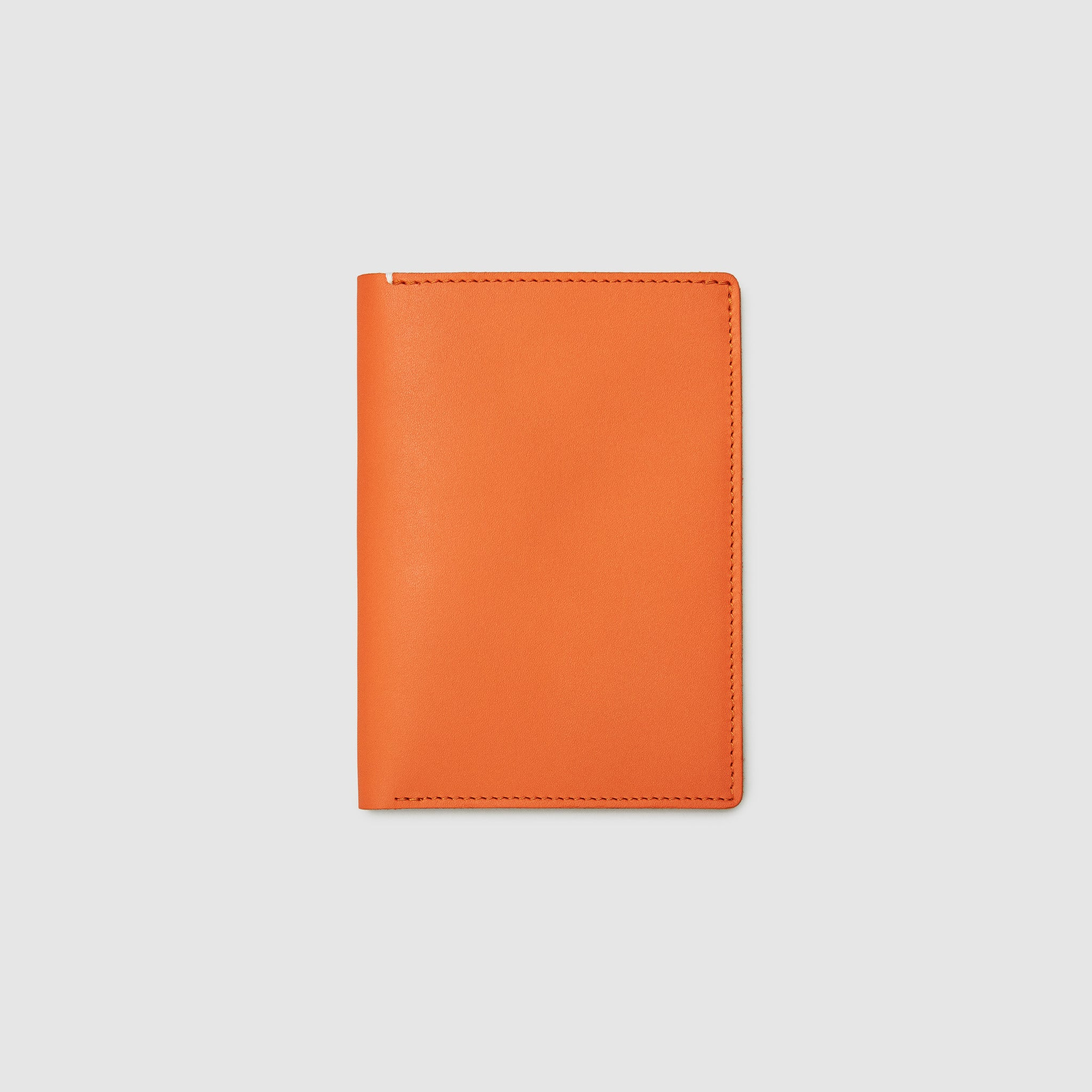 PASSPORT WALLET WALLET ANSON CALDER French Calfskin _fshd-orange