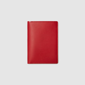 PASSPORT WALLET WALLET ANSON CALDER French Calfskin _red
