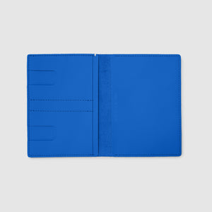 PASSPORT WALLET WALLET ANSON CALDER sport leather _sport-blue