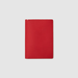 PASSPORT WALLET WALLET ANSON CALDER French Calfskin _blackPASSPORT WALLET WALLET ANSON CALDER italian sport leather _sport-red