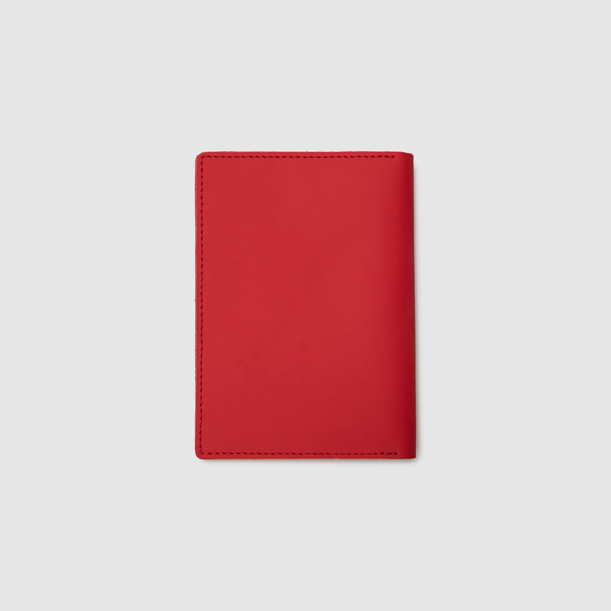 PASSPORT WALLET WALLET ANSON CALDER French Calfskin _sport-red