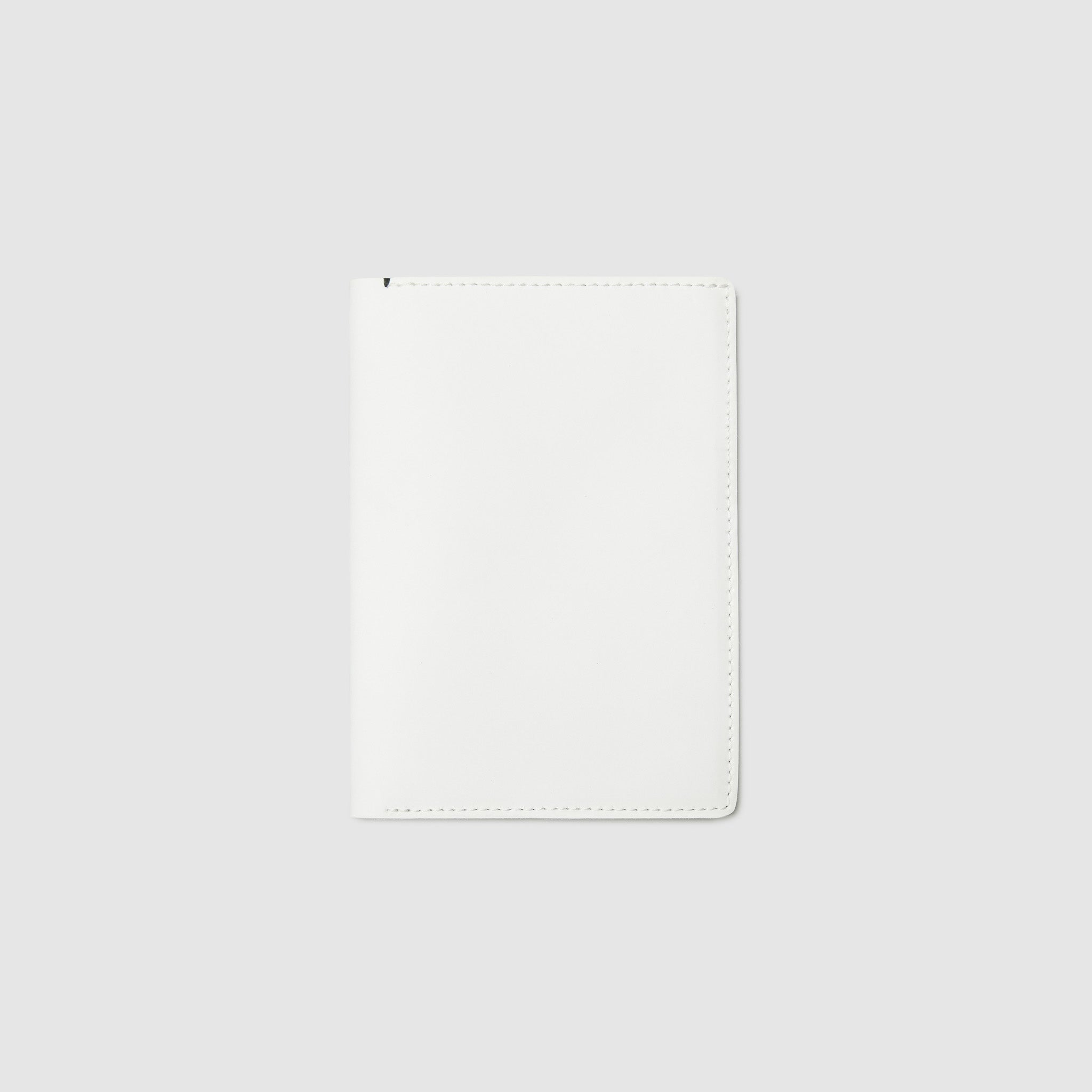PASSPORT WALLET WALLET ANSON CALDER italian sport leather _white