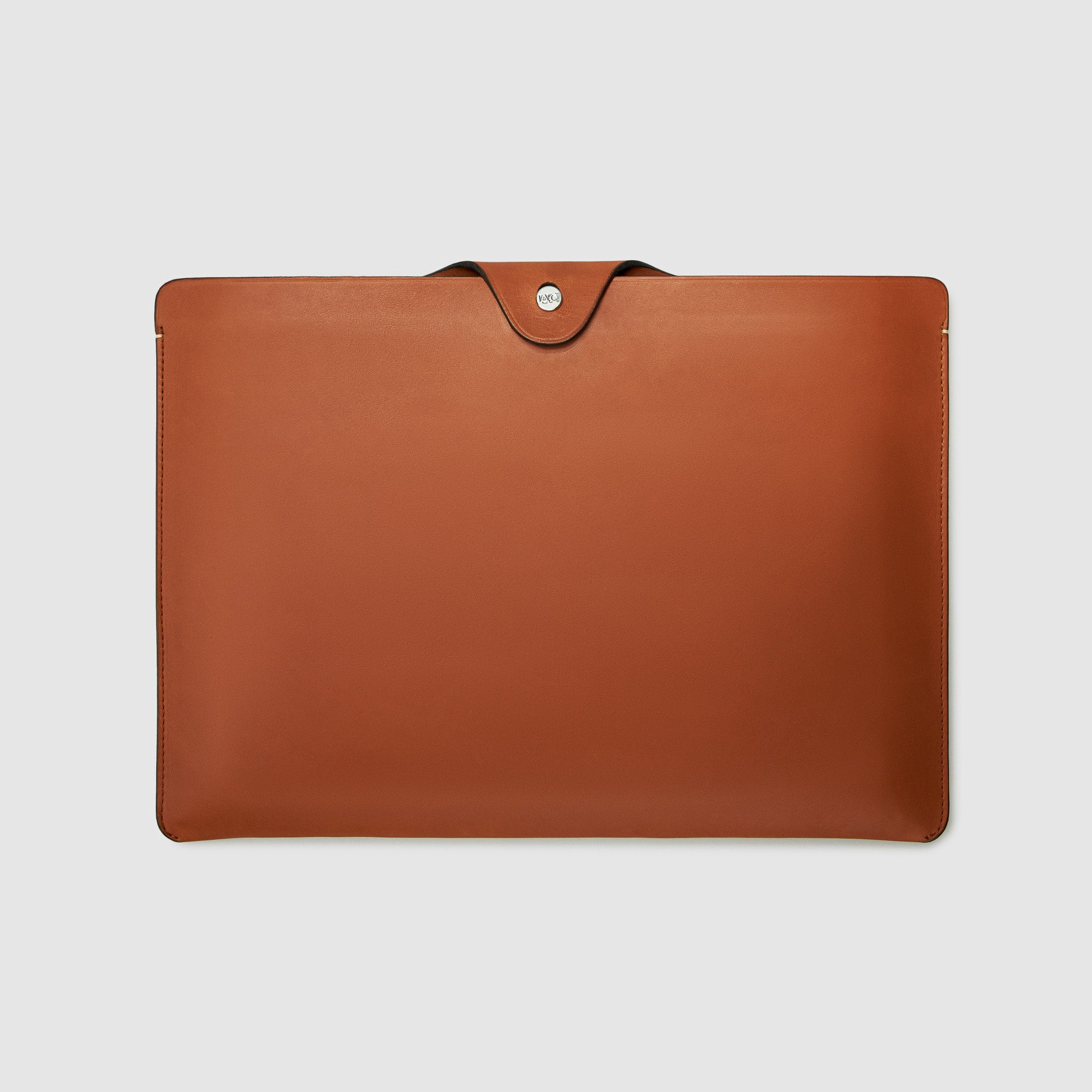 LAPTOP sleeve CASE CASES ANSON CALDER _cognac