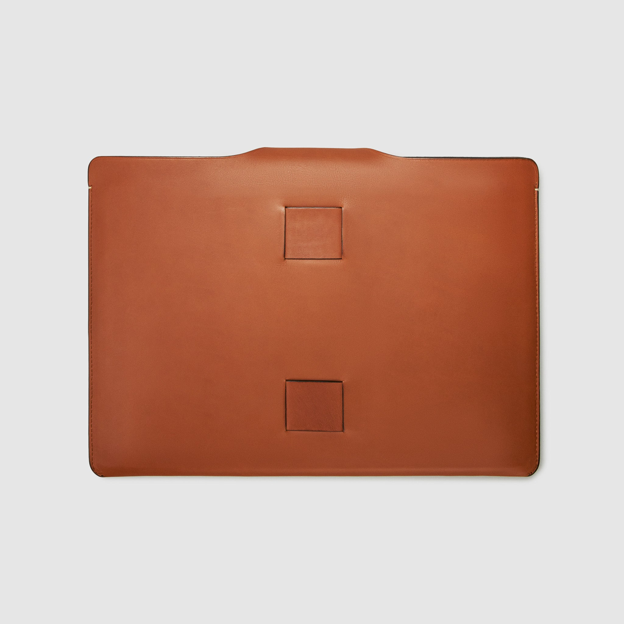 LAPTOP sleeve CASE CASES ANSON CALDER *hover _cognac