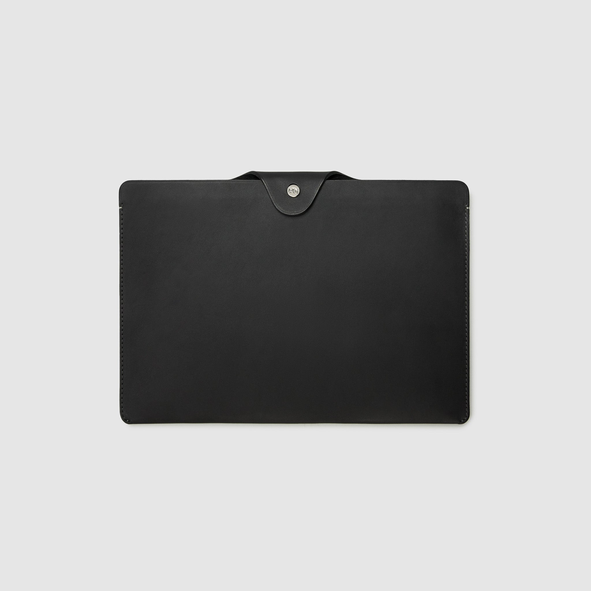 Anson Calder ipad pro sleeve case french calfskin *hover _black