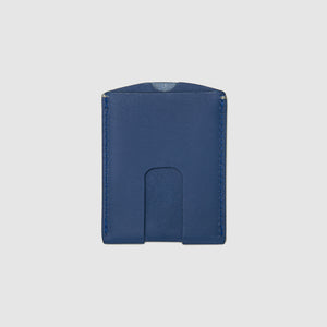 Anson Calder Card Holder Wallet french calfskin leather _cobalt
