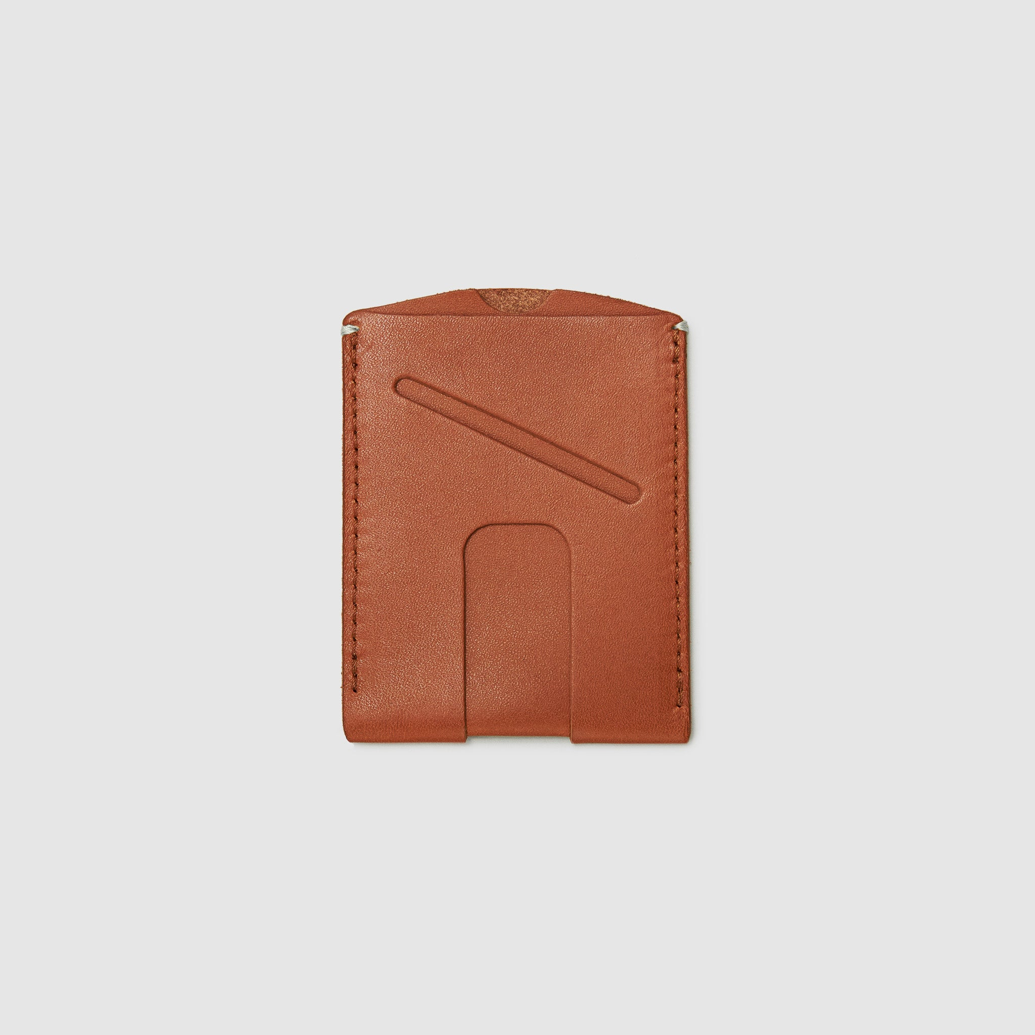 card wallet with cash slot minimal ANSON CALDER French Calfskin _blackPASSPORT WALLET WALLET ANSON CALDER french calfskin leather _cognac