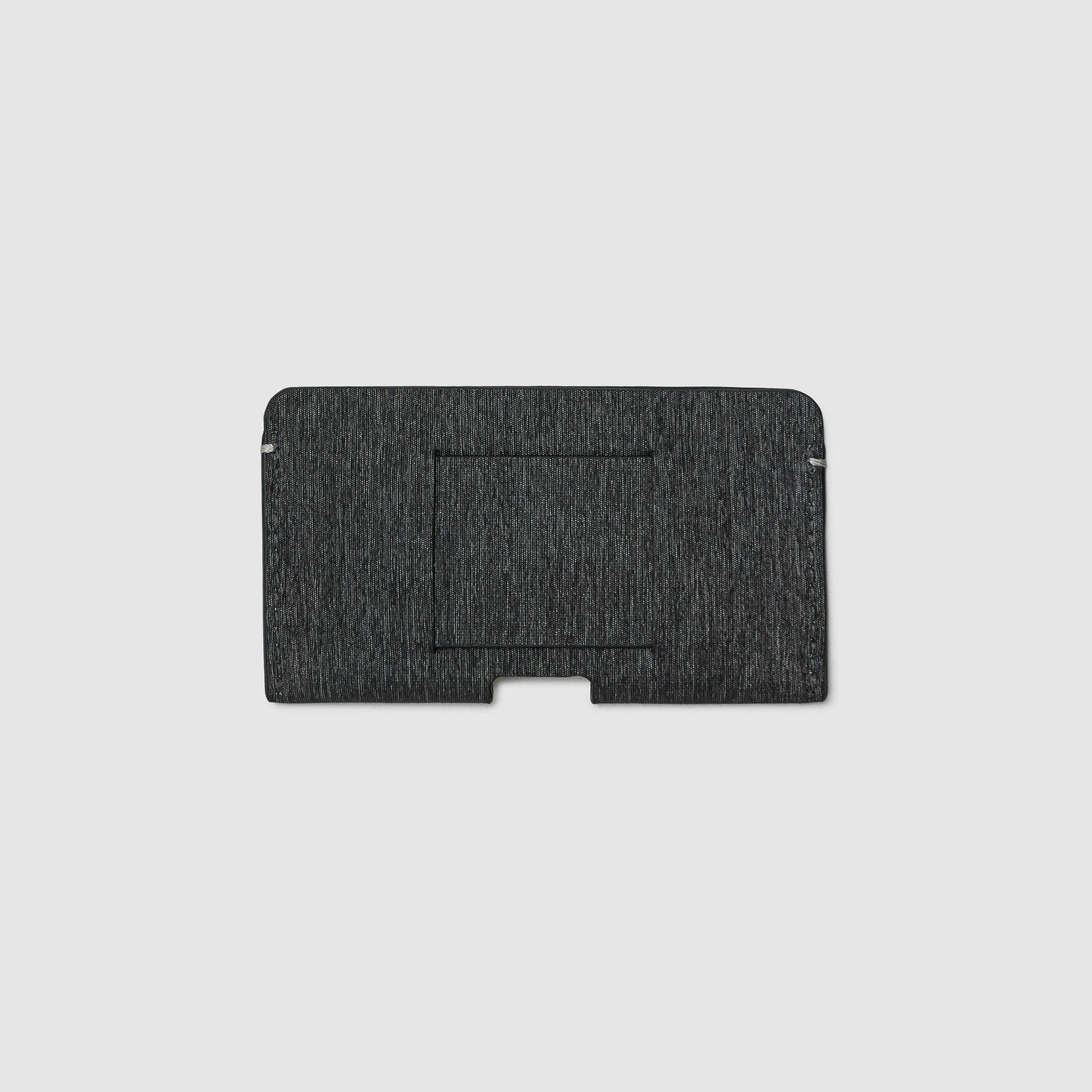 BUSINESS CARD CASE CASES ANSON CALDER French Calfskin _Black