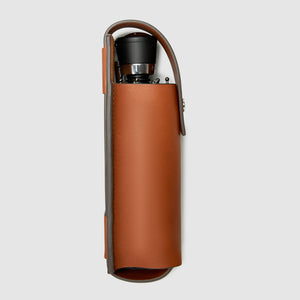 UMBRELLA CASE CASES ANSON CALDER Davek Mini French Calfskin _Cognac