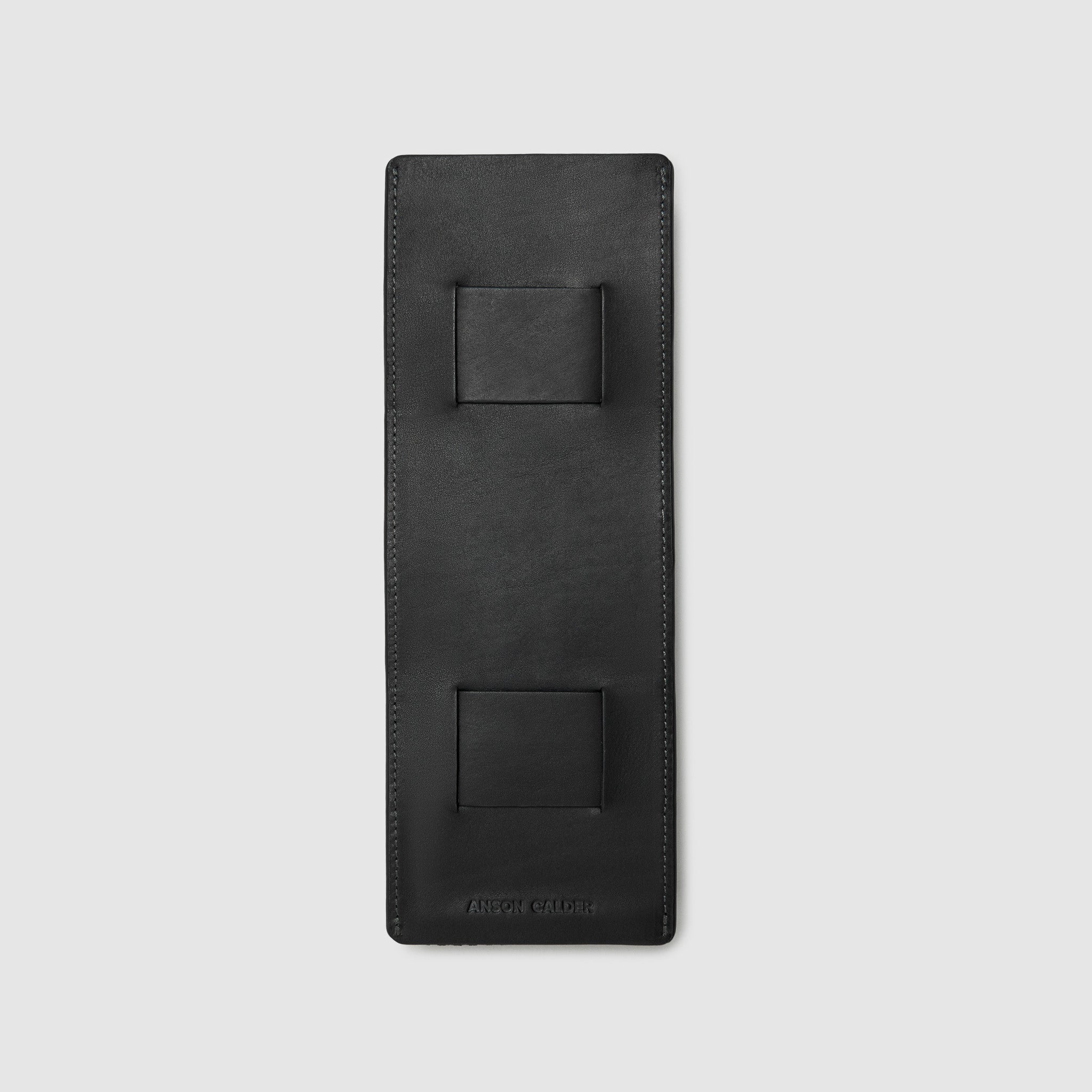 GOTUBB CASE CASES ANSON CALDER 3 medium French Calfskin _black