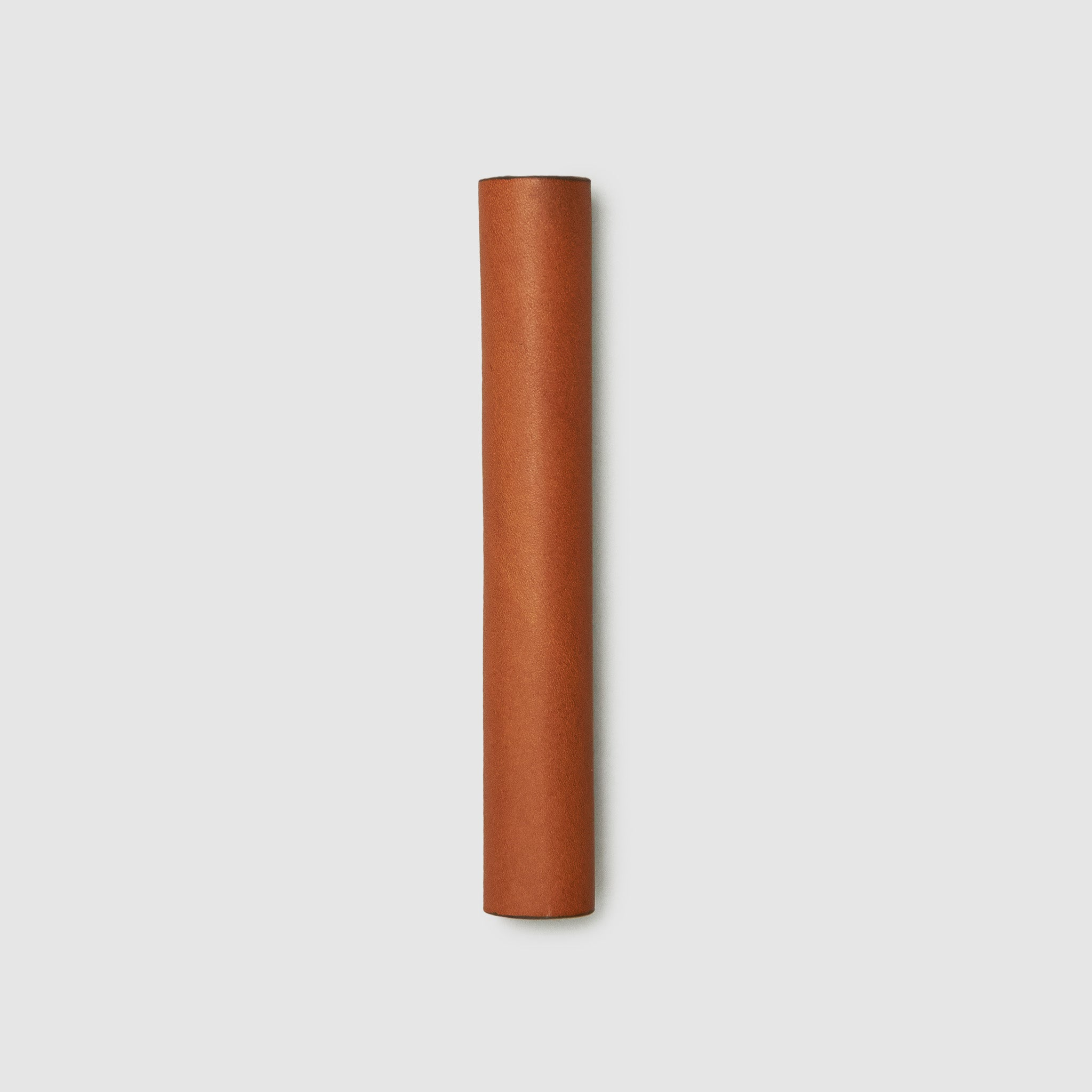 CW&T pen sleeve french calfskin _cognac