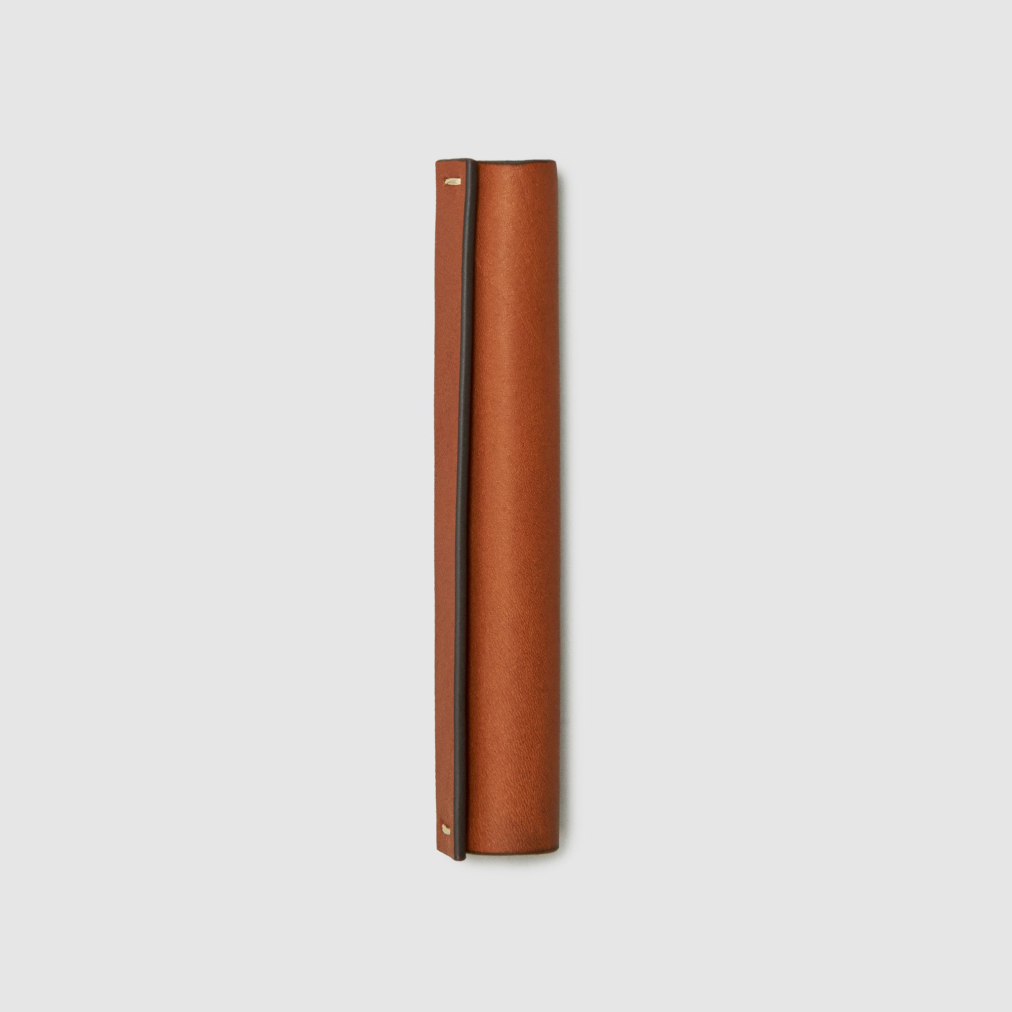 CW&T pen sleeve french calfskin *hover _cognac