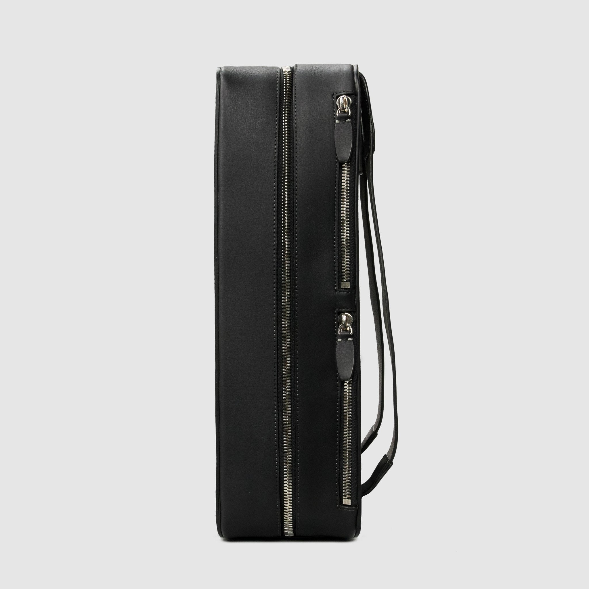 BACKPACK Bags ANSON CALDER French Calfskin leather minimal modern design designer Black _black