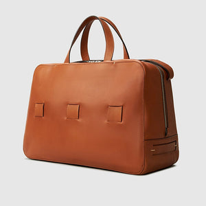 day bag anson calder french calfskin  _cognac