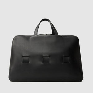 WEEKENDER Bags ANSON CALDER French Calfskin leather _Black