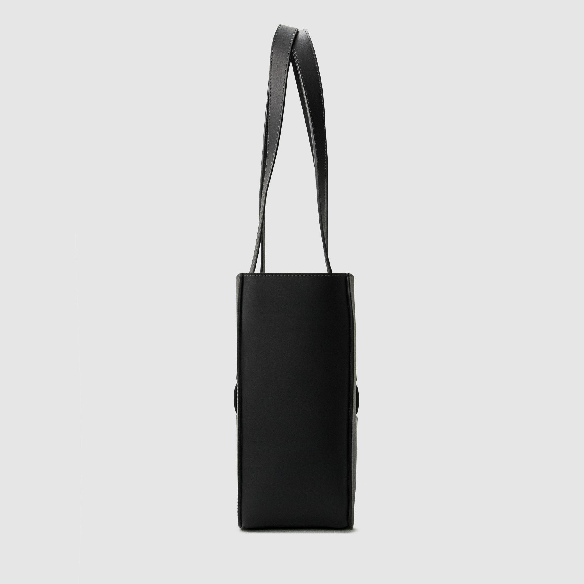 anson calder french calfskin leather tote _sport-black