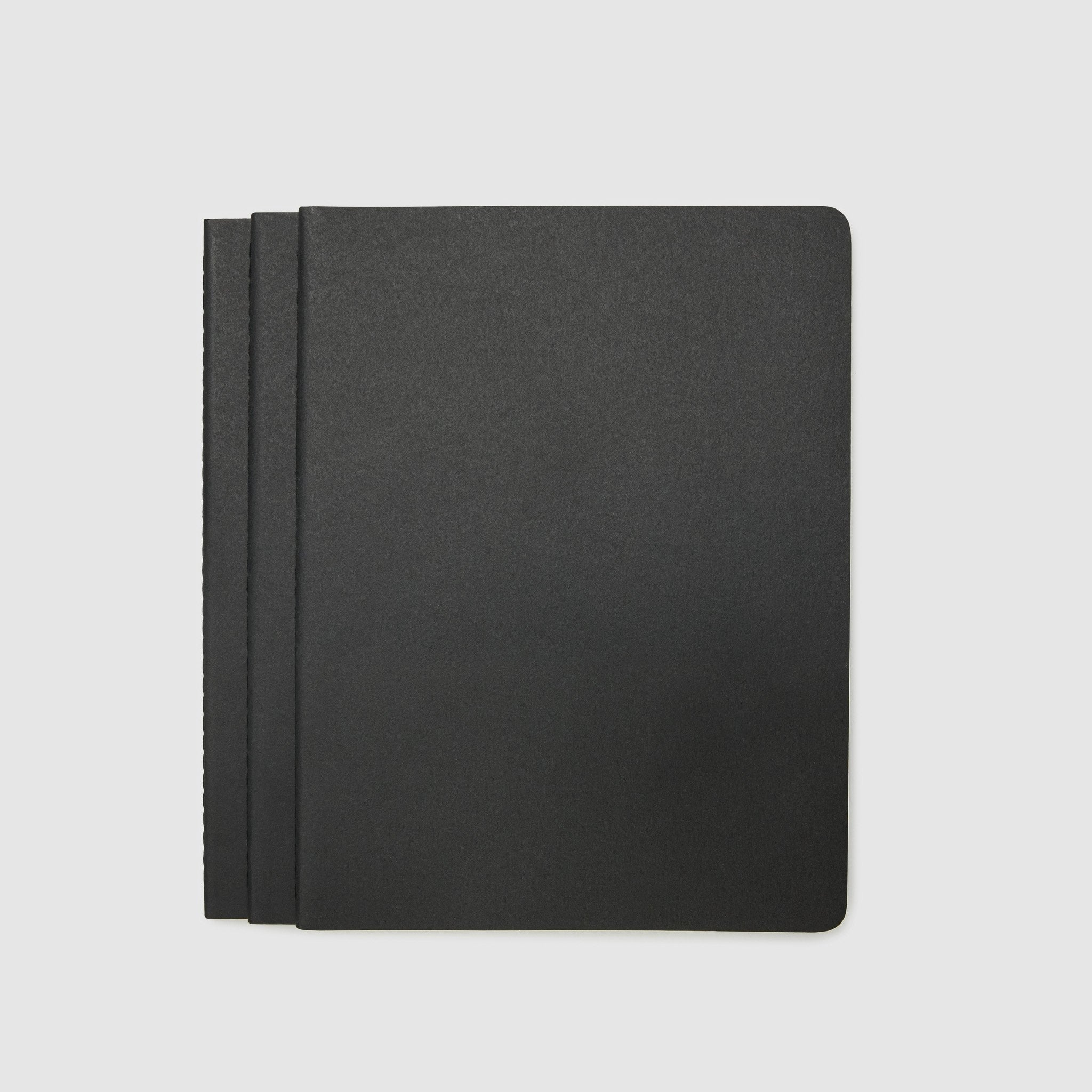 MOLESKINE® CAHIER JOURNAL - SET OF 3 PARTNER PRODUCT MOLESKINE XL _Black
