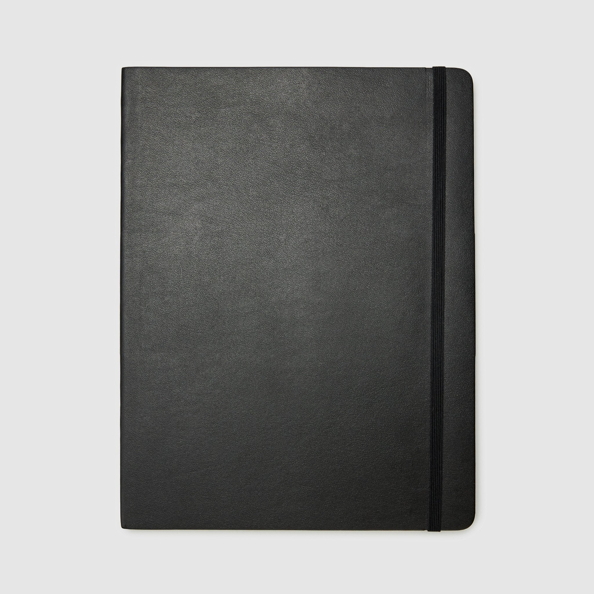 MOLESKINE® NOTEBOOK PARTNER PRODUCT MOLESKINE Large Hard Plain *hover _black