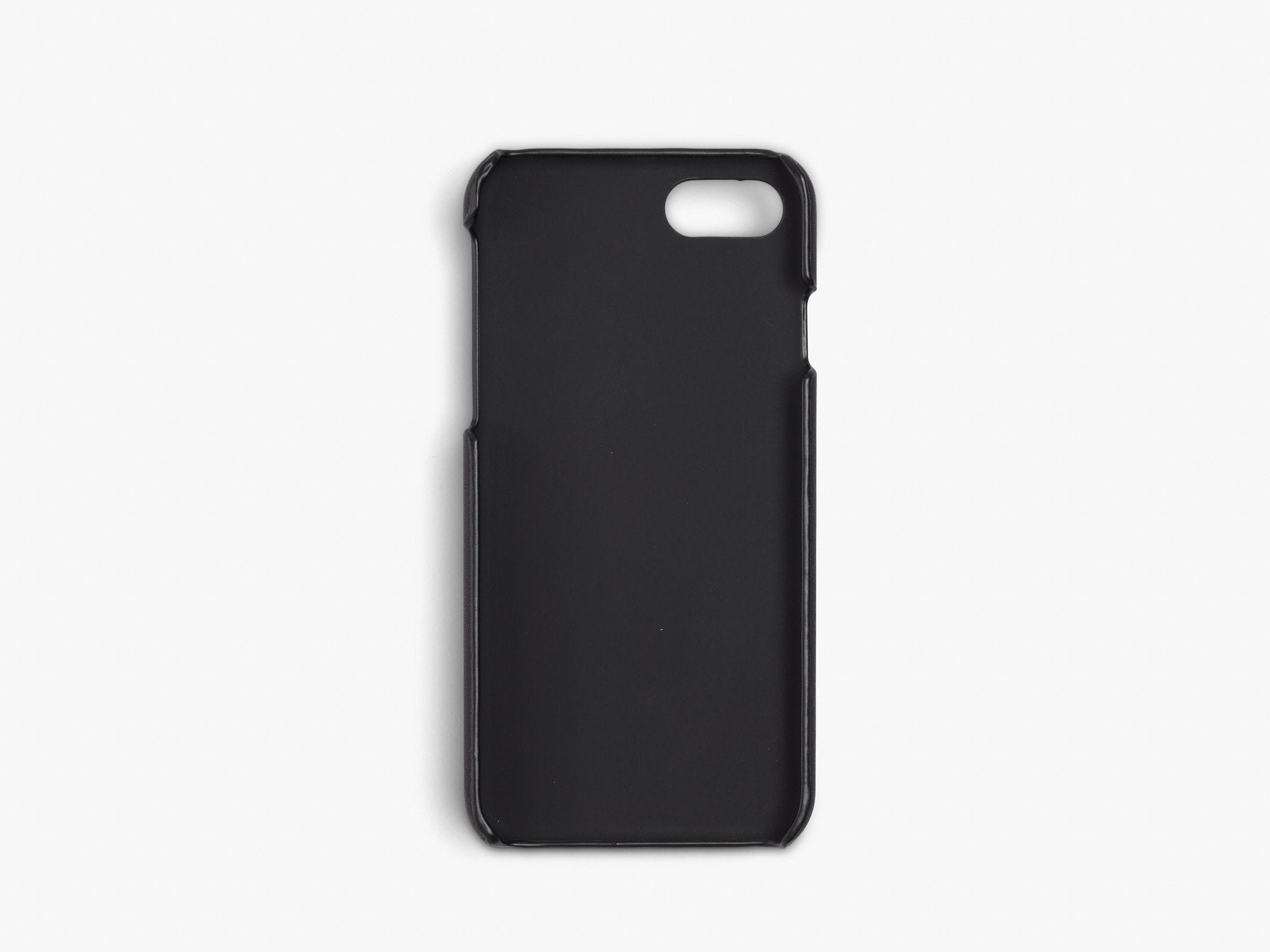 CALFSKIN iPHONE CASE CASES ANSON CALDER  !iphone8 _black