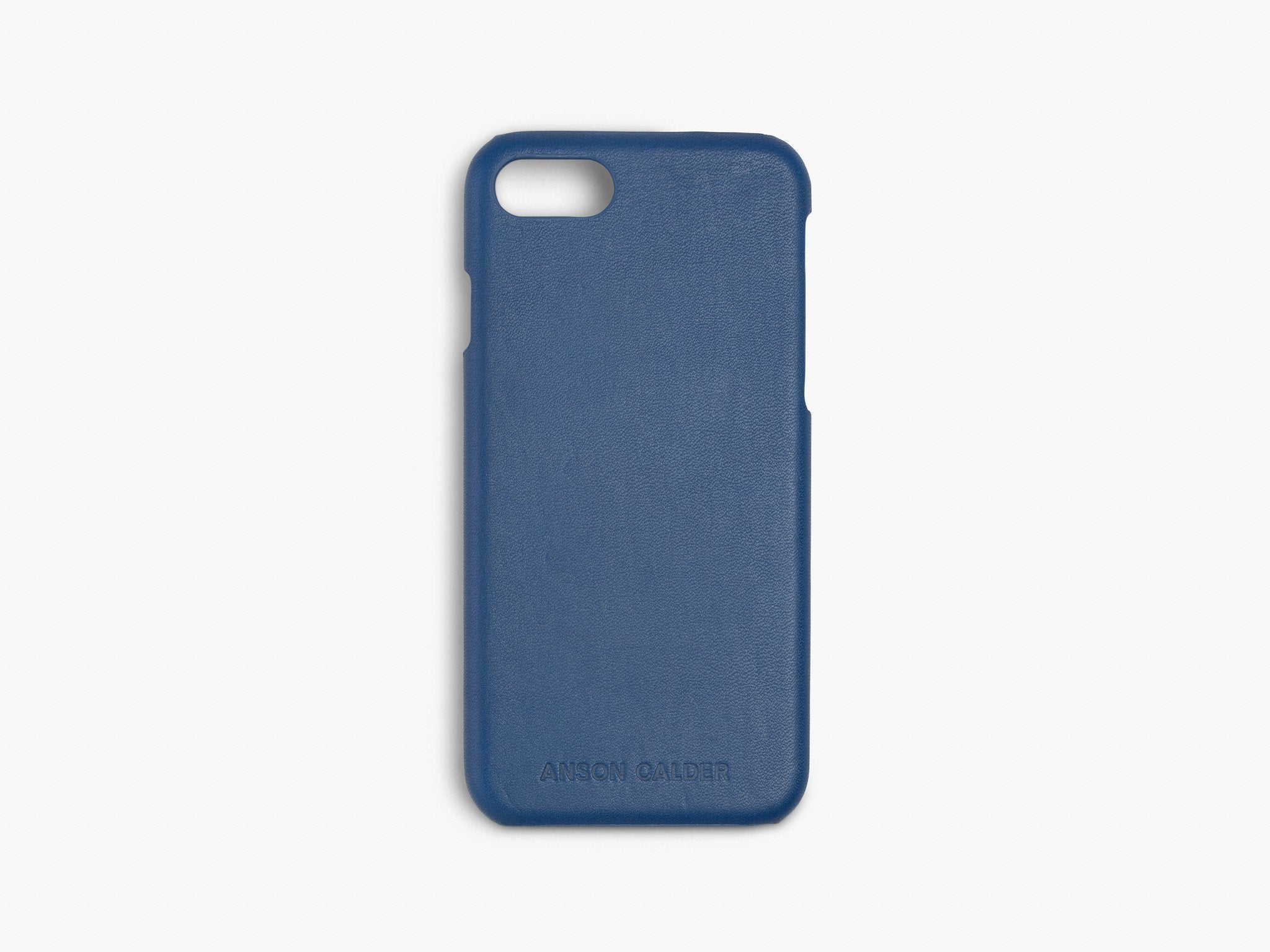 CALFSKIN iPHONE CASE CASES ANSON CALDER iPhone 6 / 6S !iphone8  _Cobalt
