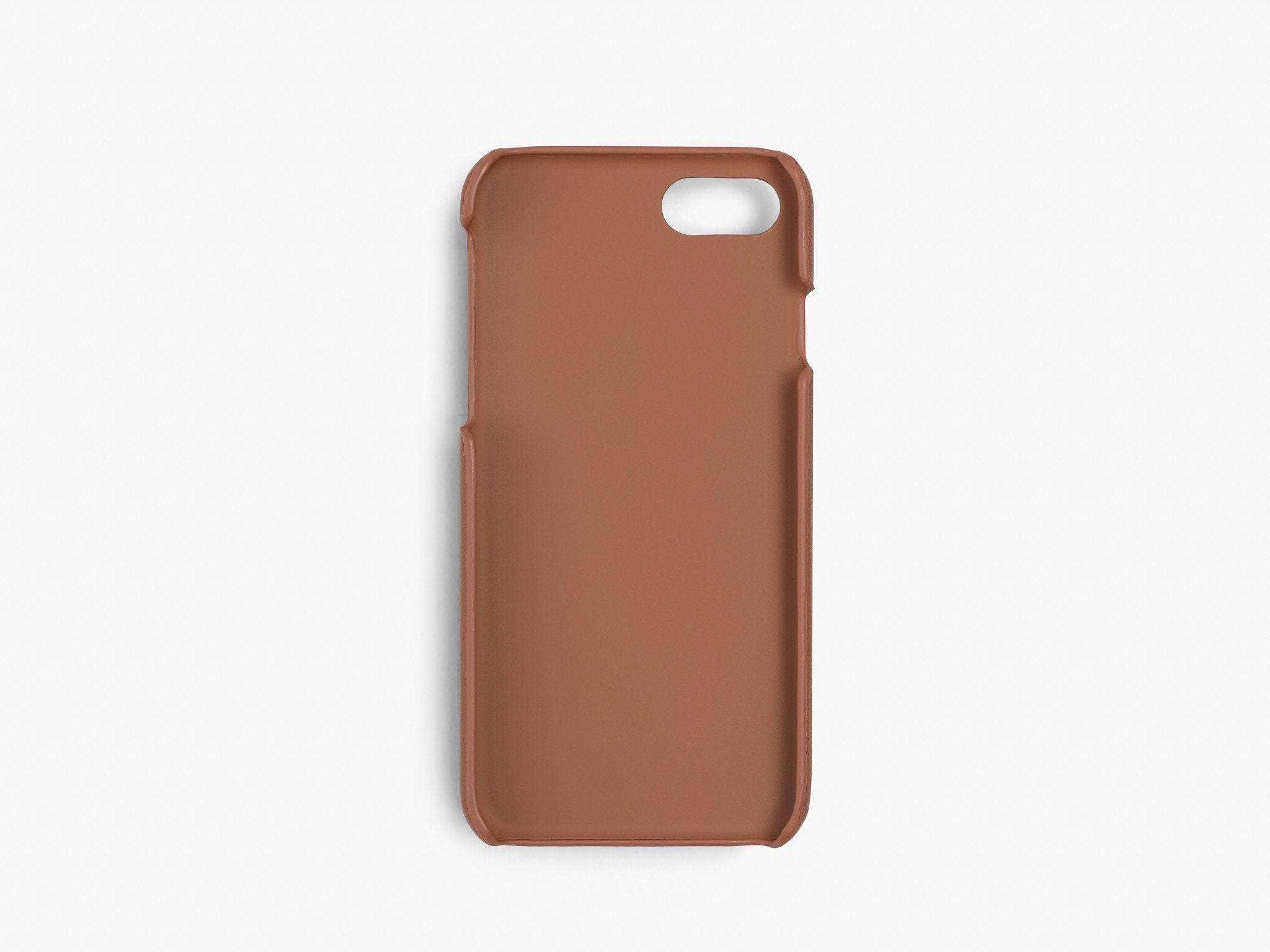 CALFSKIN iPHONE CASE CASES ANSON CALDER  !iphone8 *hover  _cognac
