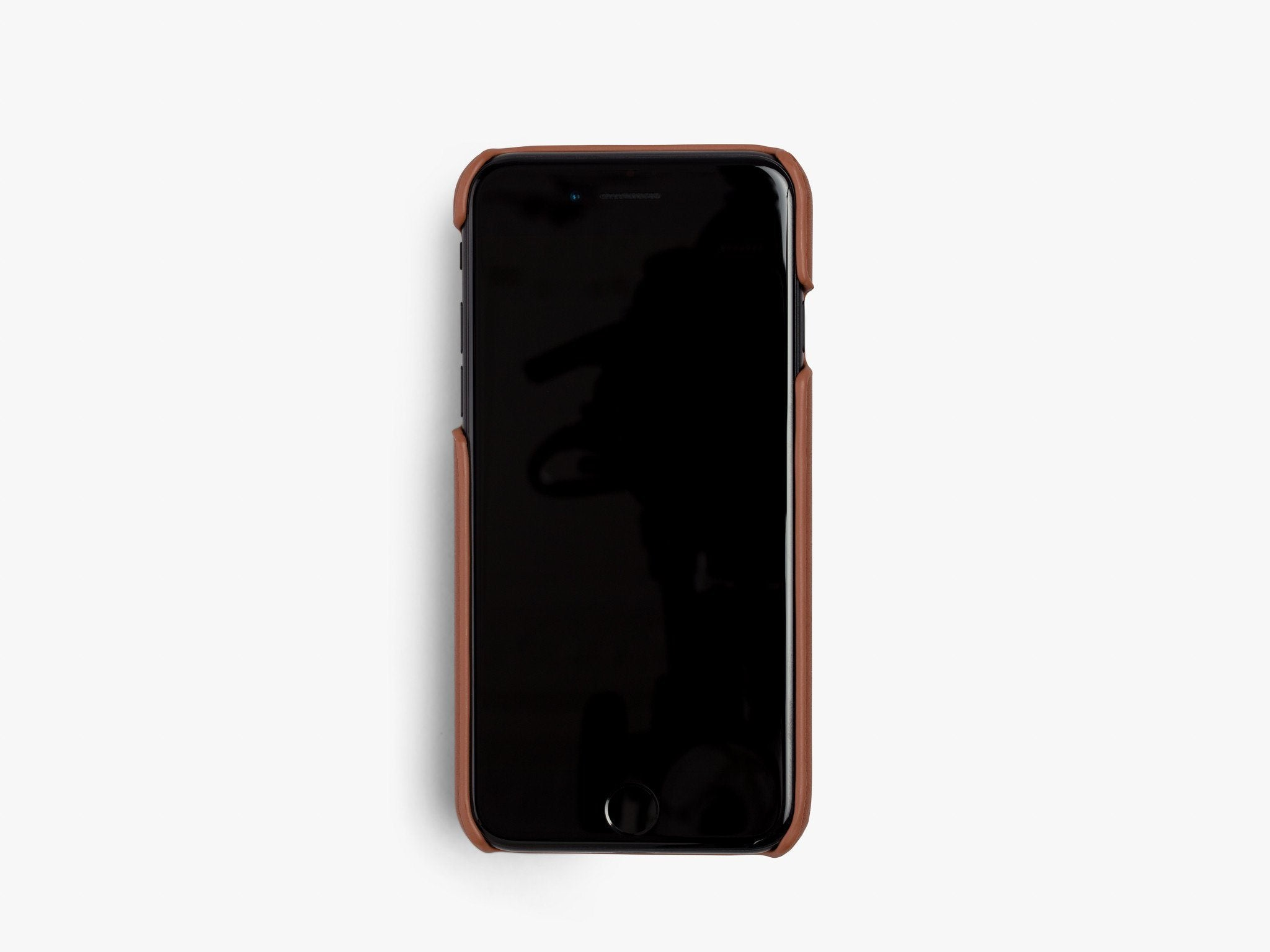 CALFSKIN iPHONE CASE CASES ANSON CALDER _cognac