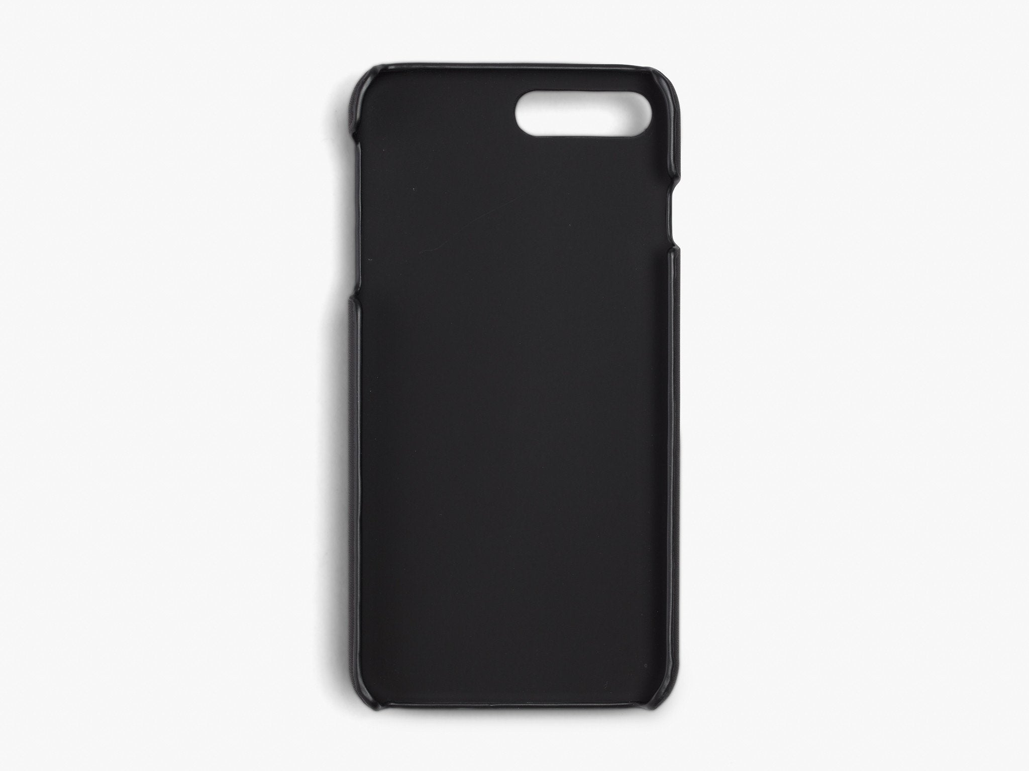 CALFSKIN iPHONE CASE CASES ANSON CALDER !iphone8plus _Black