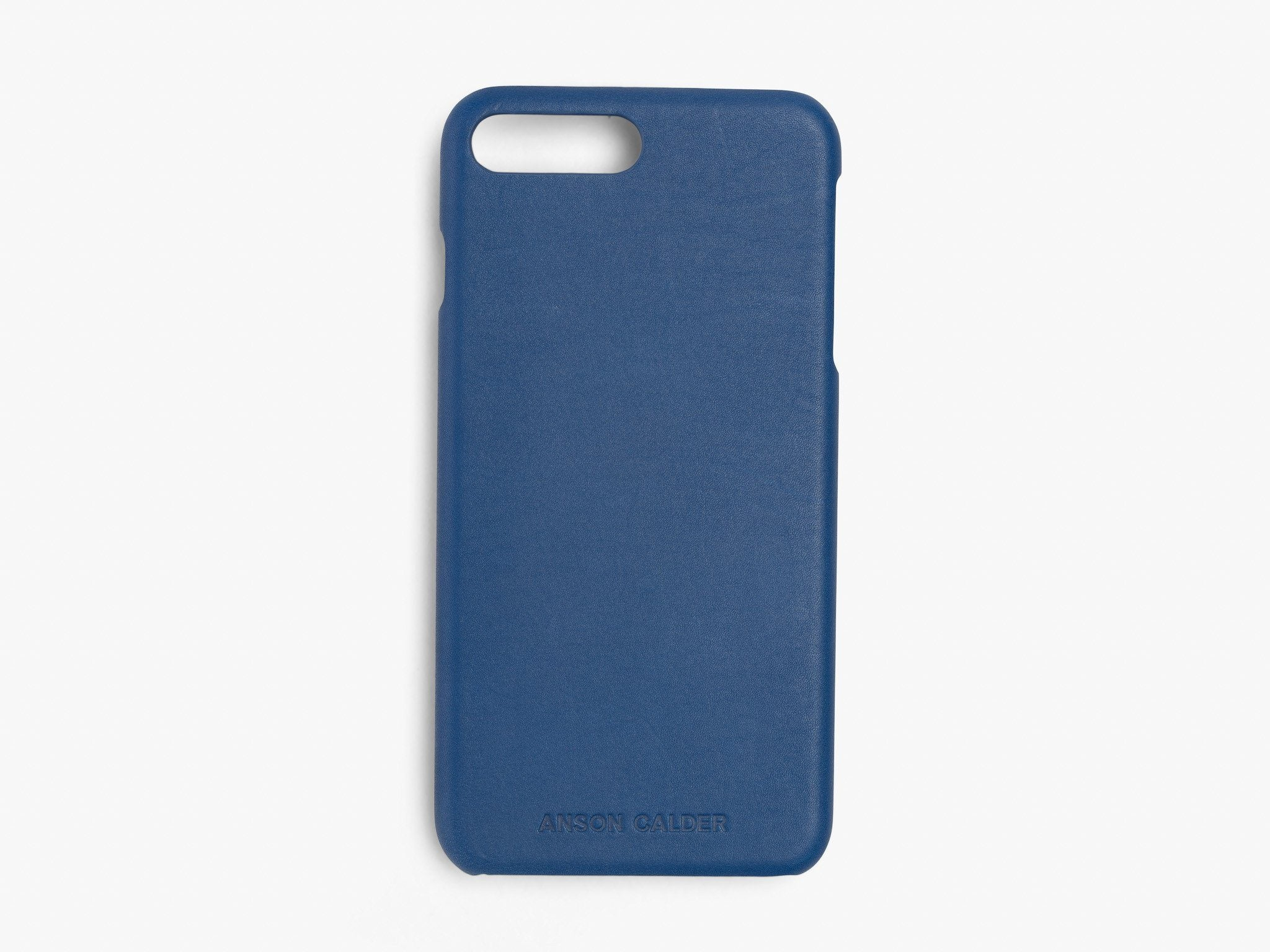 CALFSKIN iPHONE CASE CASES ANSON CALDER iPhone 6 Plus _Cobalt