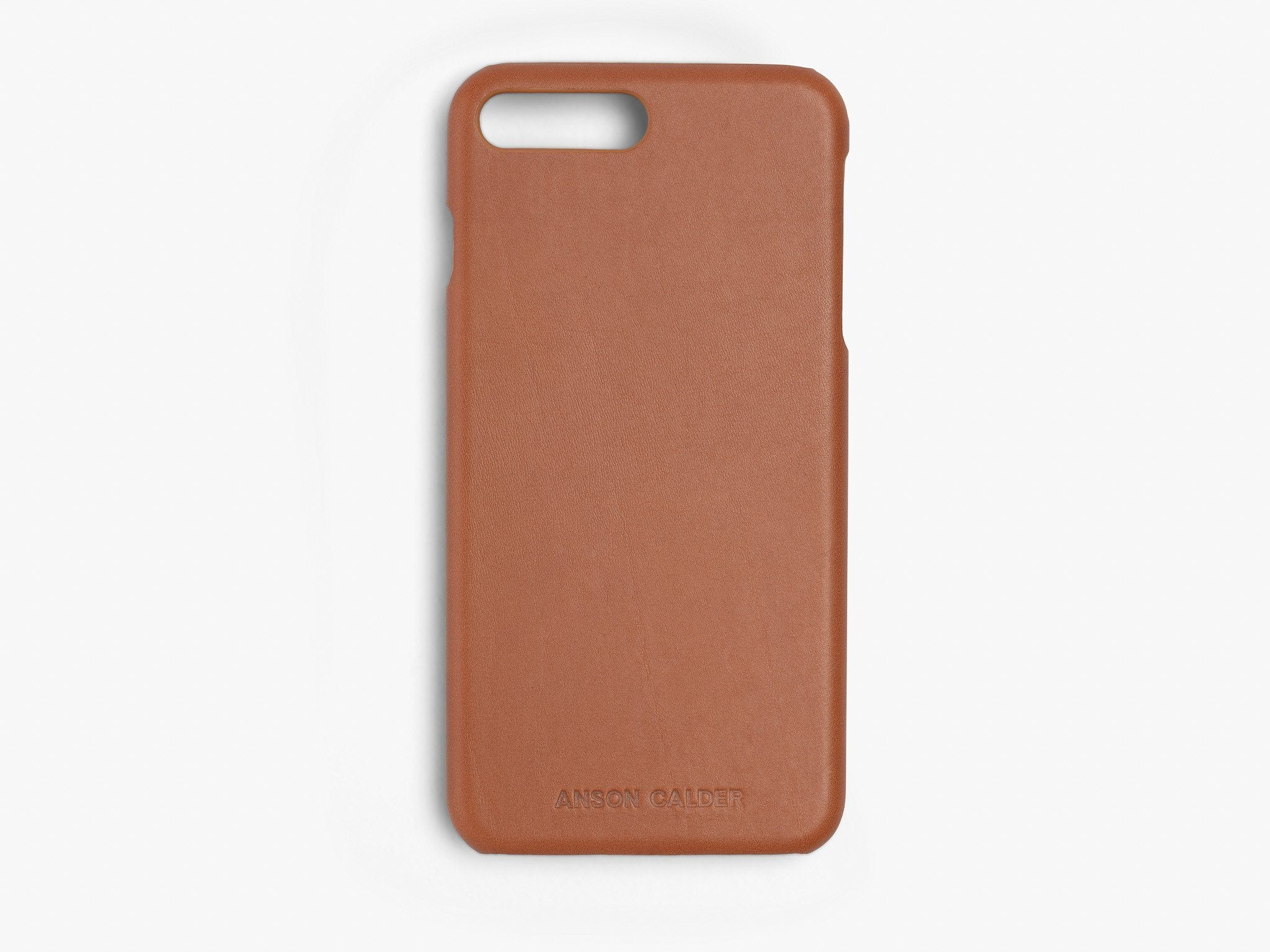 CALFSKIN iPHONE CASE CASES ANSON CALDER iPhone 6 Plus _Cognac