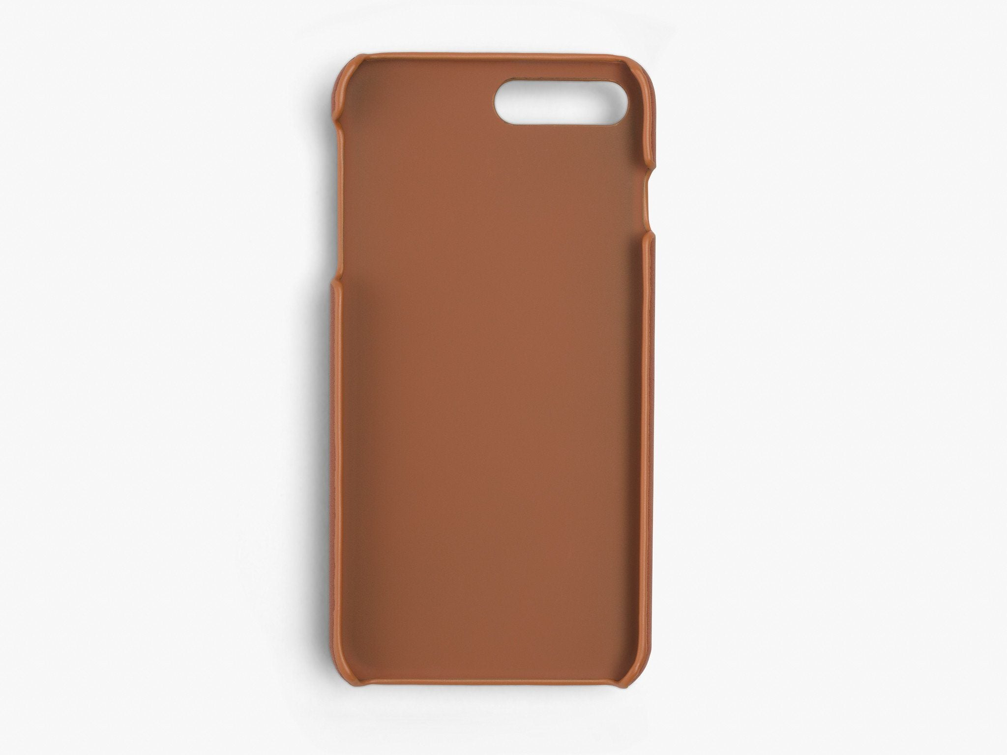 CALFSKIN iPHONE CASE CASES ANSON CALDER !iphone7plus _cognac