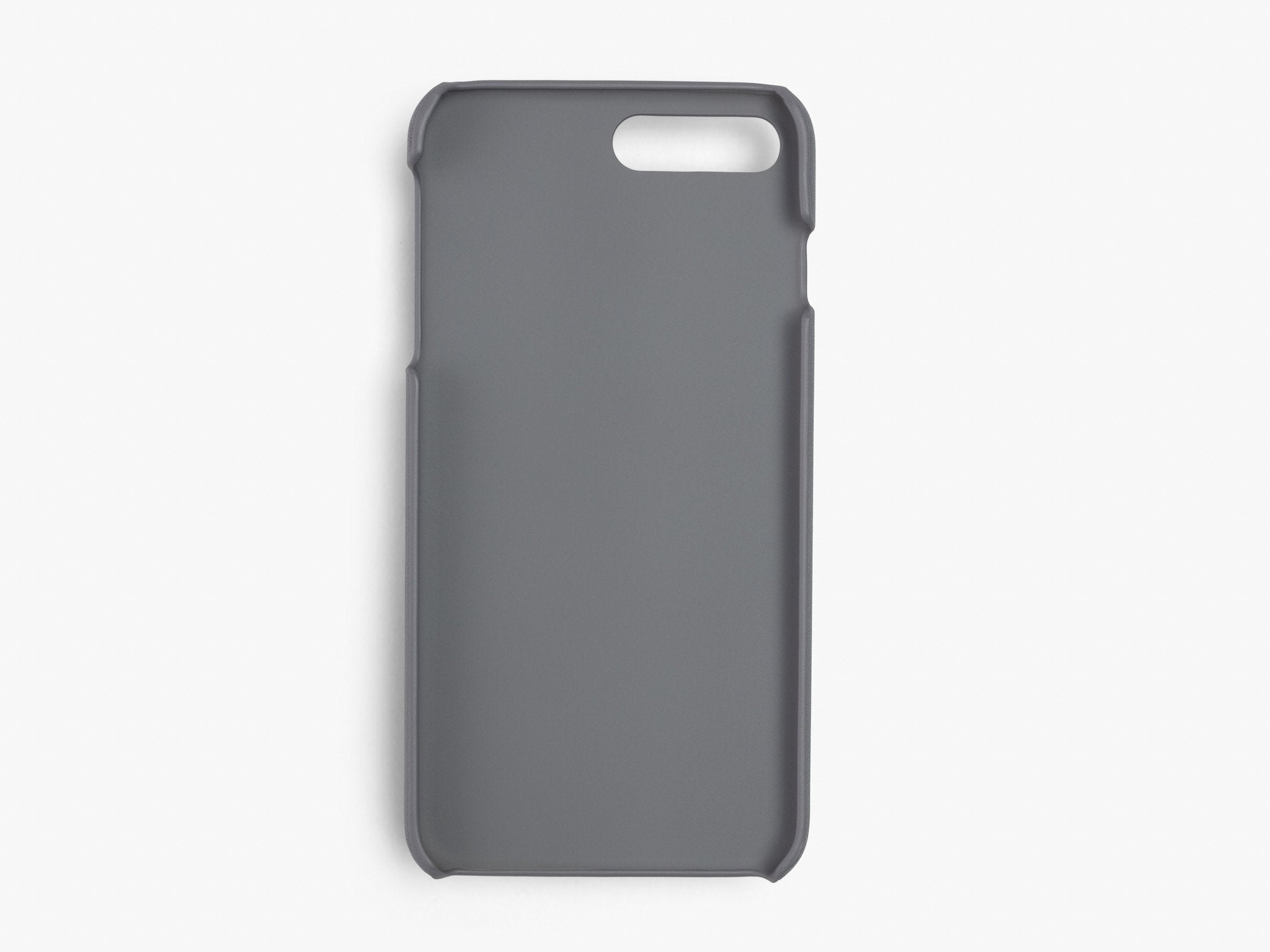CALFSKIN iPHONE CASE CASES ANSON CALDER !iphone7plus _Steel-Grey