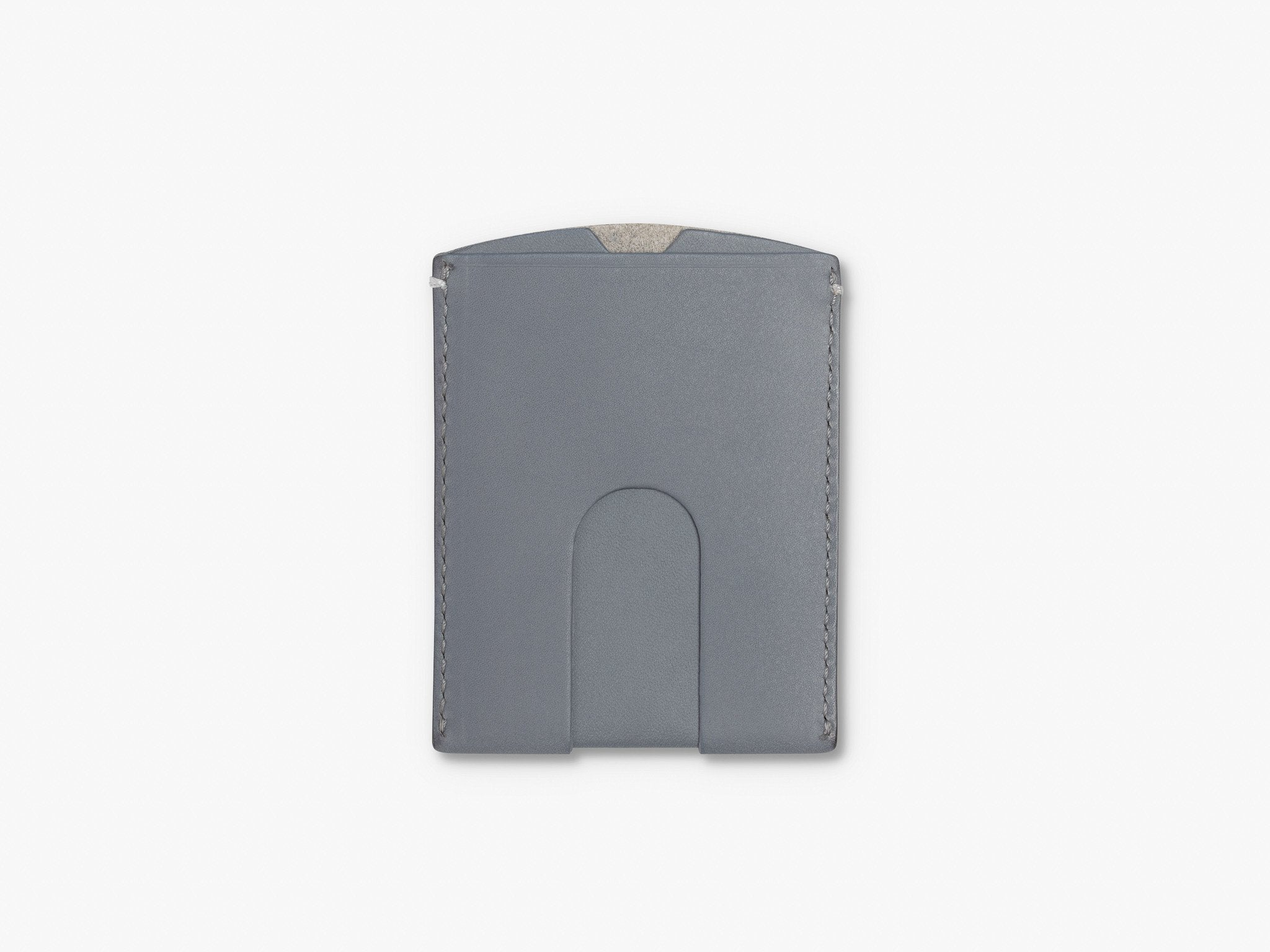 ORIGINAL CARD WALLET WALLET ANSON CALDER _Steel-Grey